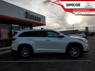 Used 2015 Toyota Highlander XLE  - $242 B/W for sale in Simcoe, ON