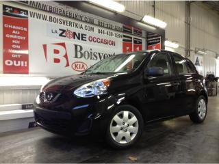 Used 2016 Nissan Micra NISSAN MICRA AUTOMATIQUE A/C PETIT FRIX !!!! for sale in Blainville, QC