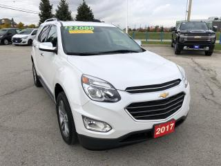 Used 2017 Chevrolet Equinox Premier for sale in Grimsby, ON