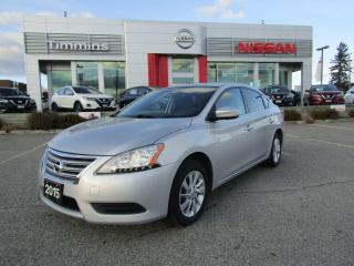 Used 2015 Nissan Sentra SV for sale in Timmins, ON