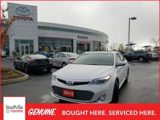 Used 2015 Toyota Avalon XLE - VERY CLEAN CAR - PUSH BUTTON START for sale in Stouffville, ON