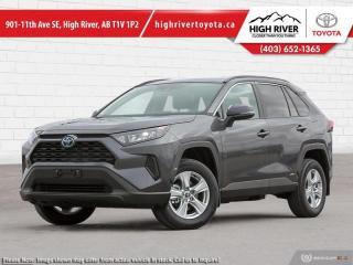 New 2021 Toyota RAV4 Hybrid LE for sale in High River, AB