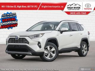 New 2021 Toyota RAV4 Hybrid Limited for sale in High River, AB