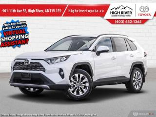 New 2021 Toyota RAV4 LIMITED  for sale in High River, AB