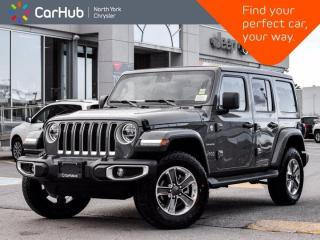 New 2021 Jeep Wrangler New Sahara Unlimited 4x4 Power Sky Top Alpine Audio for sale in Thornhill, ON
