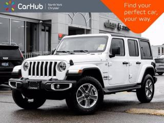 New 2021 Jeep Wrangler Unlimited New Sahara 4x4 Heated Seats & Wheel Alpine Audio for sale in Thornhill, ON
