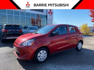 Used 2015 Mitsubishi Mirage ES for sale in Barrie, ON