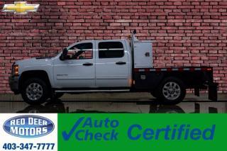 Used 2012 Chevrolet Silverado 3500HD 4x4 Crew Cab LT Deck for sale in Red Deer, AB