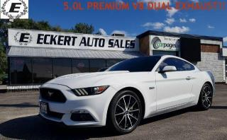 Used 2017 Ford Mustang GT Premium/5.0L V8/DUAL EXHAUST!! for sale in Barrie, ON