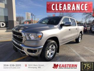 New 2021 RAM 1500 Big Horn | Remote Start | Backup Cam | 0% Available | for sale in Winnipeg, MB