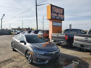 Used 2016 Honda Civic Touring*LEATHER*NAV*LOADED**CERTIFIED for sale in London, ON