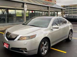 Used 2011 Acura TL 4dr Sdn Auto SH-AWD w/Tech Pkg for sale in North York, ON