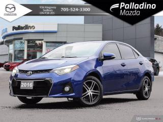 Used 2016 Toyota Corolla S - NEW TIRES - ONE OWNER for sale in Sudbury, ON