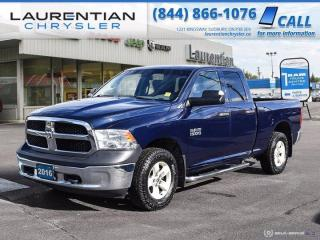 Used 2016 RAM 1500 ST!!  4WD!!  TRAILER BRAKE CONTROL!! for sale in Sudbury, ON