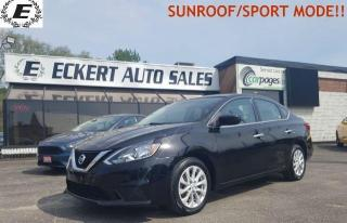 Used 2017 Nissan Sentra SV/REVERSE CAMERA/SUNROOF!! for sale in Barrie, ON