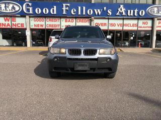 Used 2004 BMW X3 LEATHER SEATS, HEATED SEATS, POWER SEATS, AWD for sale in Toronto, ON