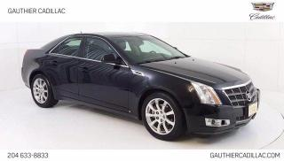 Used 2008 Cadillac CTS 4Dr., 3.6L V6, Power Sunroof, Heated/Cooled Leathe for sale in Winnipeg, MB