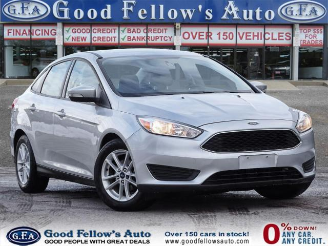 2017 Ford Focus SE MODEL, 2.0 L 4CYL, REARVIEW CAMERA, BLUETOOTH