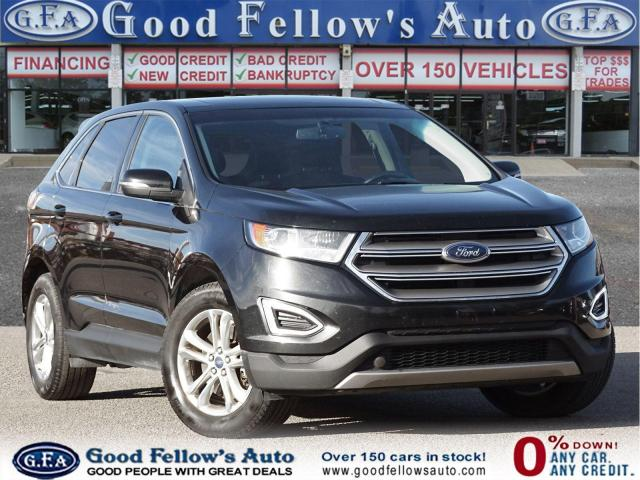 2015 Ford Edge SEL MODEL, LEATHER SEATS, PAN ROOF, NAVIGATION