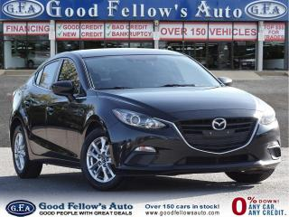Used 2016 Mazda MAZDA3 GS MODEL, SKYACTIV, 4CYL 2.0L, REARVIEW CAMERA for sale in Toronto, ON