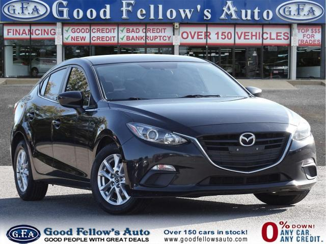 2016 Mazda MAZDA3 GS MODEL, SKYACTIV, 4CYL 2.0L, REARVIEW CAMERA