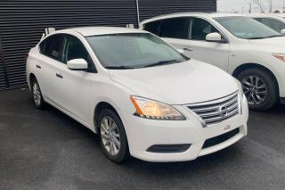 Used 2015 Nissan Sentra SV A/C MAGS CAMERA DE RECUL GROS ECRAN for sale in St-Hubert, QC