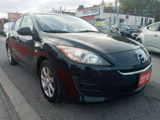 Used 2010 Mazda MAZDA3 GX-EXTRA CLEAN-SUNROOF-BLUETOOTH-AUX-ALLOYS for sale in Scarborough, ON