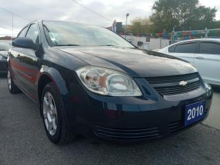 Used 2010 Chevrolet Cobalt LT w/1SA-EXTRA CLEAN-ONLY 131K-GAS SAVER-AUX-ALLOY for sale in Scarborough, ON