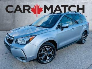 Used 2016 Subaru Forester XT TOURING / EYESITE / NAV / ROOF / LEATHER for sale in Cambridge, ON