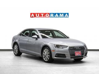 Used 2017 Audi A4 Komfort Quattro Leather Sunroof for sale in Toronto, ON