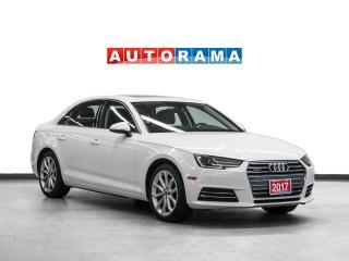 Used 2017 Audi A4 Progressiv Quattro Navigation Leather Sunroof Bcam for sale in Toronto, ON