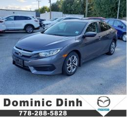 Used 2018 Honda Civic Sedan LX CVT for sale in Richmond, BC