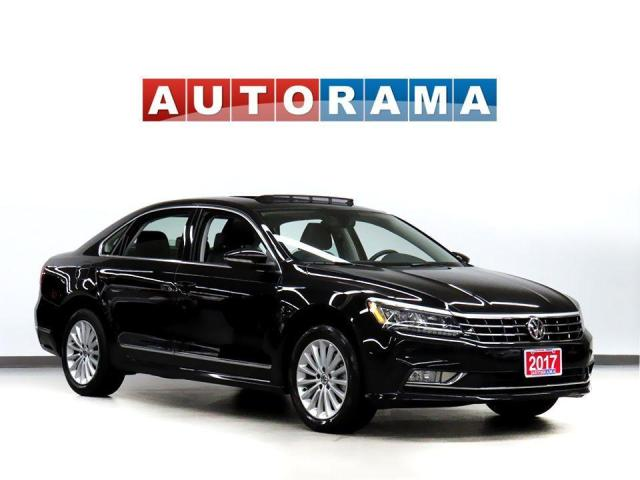 2017 Volkswagen Passat Comfortline Navigation Leather Sunroof Bcam