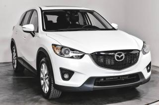 Used 2015 Mazda CX-5 GT AWD MAGS CUIR TOIT NAV for sale in St-Hubert, QC