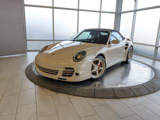 Used 2009 Porsche 911 Turbo Cabriolet | Manual | Sport Chrono | No Accidents for sale in Edmonton, AB