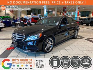 Used 2016 Mercedes-Benz E-Class E 400 4MATIC - Nav / Pano Sunroof / Leather / No Dealer Fees for sale in Richmond, BC