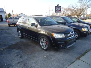 Used 2012 Dodge Journey SXT for sale in Sarnia, ON