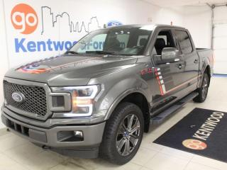 Used 2018 Ford F-150 3 MONTH DEFERRAL! *oac | Lariat Appearance | Heated/Cooled Leather | Sunroof | NAV for sale in Edmonton, AB