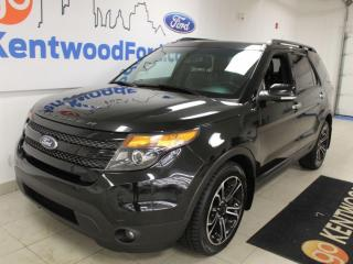 Used 2014 Ford Explorer 3 MONTH DEFERRAL! *oac | SPORT | LEATHER | ROOF| AWD!!! for sale in Edmonton, AB