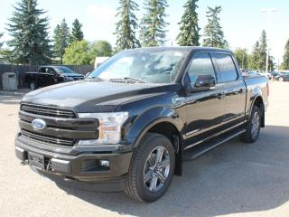 New 2020 Ford F-150 Lariat 502A | 4X4 Supercrew | 3.5L Ecoboost | Auto Start/Stop | Heated Seats/Heated Steering Wheel | Pre-Collision Assist | Rear View Camera | Trailer Tow Package | Navigation | Moonroof | for sale in Edmonton, AB