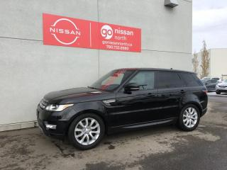 Used 2016 Land Rover Range Rover Sport Td6 HSE 4dr 4WD Sport Utility for sale in Edmonton, AB