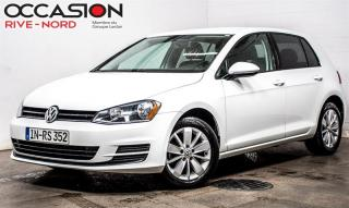 Used 2015 Volkswagen Golf 1.8 TSI Trendline MAGS+SIEGES.CHAUFFANTS+BLUETOOTH for sale in Boisbriand, QC