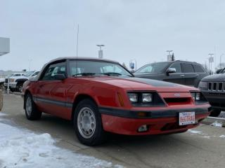 Used 1986 Ford Mustang GT for sale in Red Deer, AB