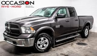Used 2017 RAM 1500 Quad Cab Outdoorsman V6 4x4 for sale in Boisbriand, QC