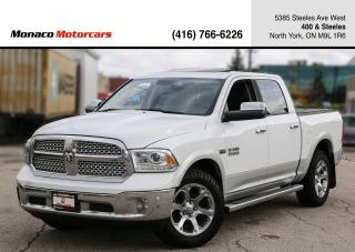 Used 2014 RAM 1500 4WD LARAMIE CREWCAB - LEATHER|NAVI|BACKUP|DVD for sale in North York, ON