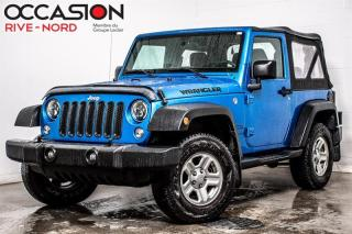 Used 2016 Jeep Wrangler Sport A/C+BLUETOOTH for sale in Boisbriand, QC