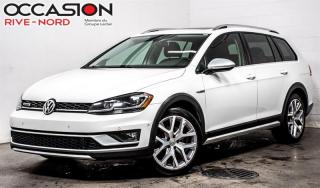 Used 2018 Volkswagen Golf Alltrack 1.8 TSI 4motion NAVI+CUIR+TOIT.OUVRANT for sale in Boisbriand, QC