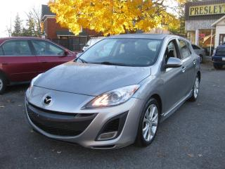 Used 2010 Mazda MAZDA3 GS Auto Hatchback AC Htd Seat Sunroof Cruise PL PW for sale in Ottawa, ON
