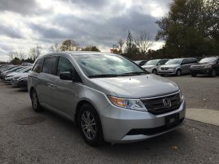 Used 2012 Honda Odyssey EX. REAR CAMERA-POWER SLIDING DOORS-8 SEATER-GREAT CONDITION for sale in London, ON