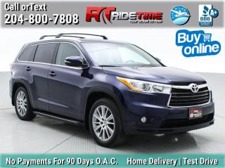 Used 2015 Toyota Highlander XLE for sale in Winnipeg, MB